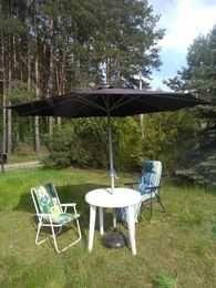 Zestaw ogrodowy ,stół , krzesła i parasol