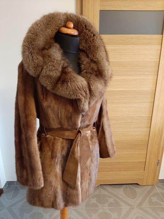 Futro płaszcz z norek jak nowe Gliwice - image 1