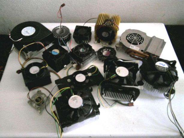 Coolers e ventoinhas de processador - Pentium IV...