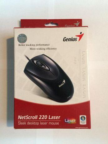 Myszka Genius NetScroll 220 Laser 1600 DPI ! k. Łódź
