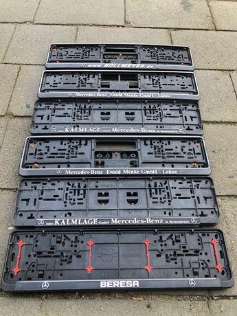 Ramki pod rejestracje tablice rejestracyjną Niemieckie Mercedes-Benz