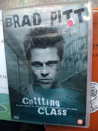 """BRAD PITT """" cutting class"""", 1989, 2° filme do Actor, DVD"""