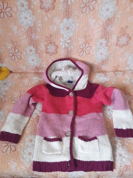 Куртка парка на девочку 4-6 лет
