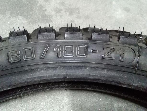 Heidenau K60 80/90-21 Michelin Sirac 110/80-18