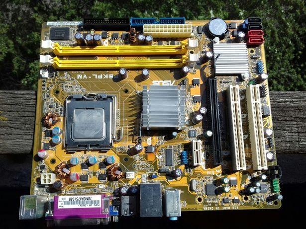 материнская плата ASUS P5KPL-VM + E2180