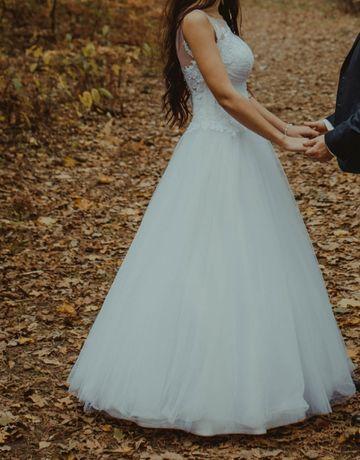 Suknia ślubna princessa 36