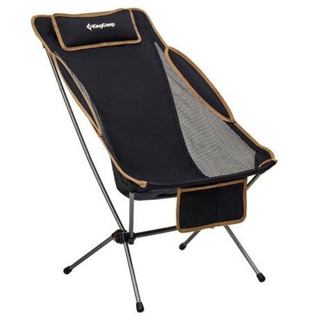 OUTLET - krzesło kempingowe turystyczne składane ultra lekkie KingCamp