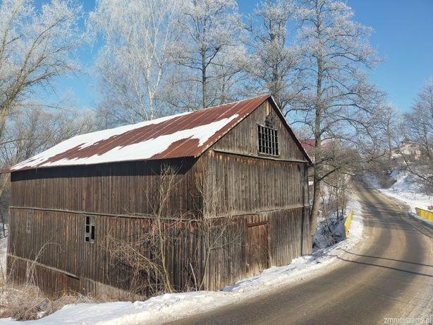 MŁYN do rozbiórki przeniesienia stary dom drewniany stodoła deski bale
