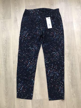 Крутые брюки из текстурной ткани штаны летные