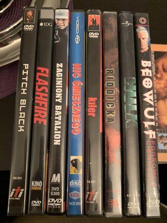 Filmy na dvd różne (kiler, pitch black, hulk, nic śmiesznego)