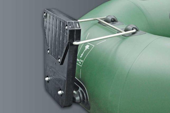 Навесной транец Колибри для установки мотора на гребные лодки Kolibri