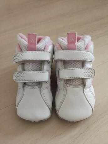Оригинальные красовки детские adidas кожаные 12 см по стельке