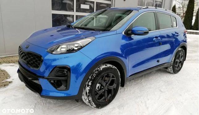 Kia Sportage Od ręki 2021 Benzyna 1,6 T GDI 177KM 6MT // Black Edition / Skóry, LED