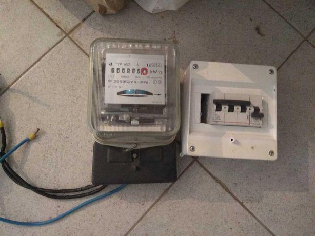 Licznik elektryczny + bezpieczniki