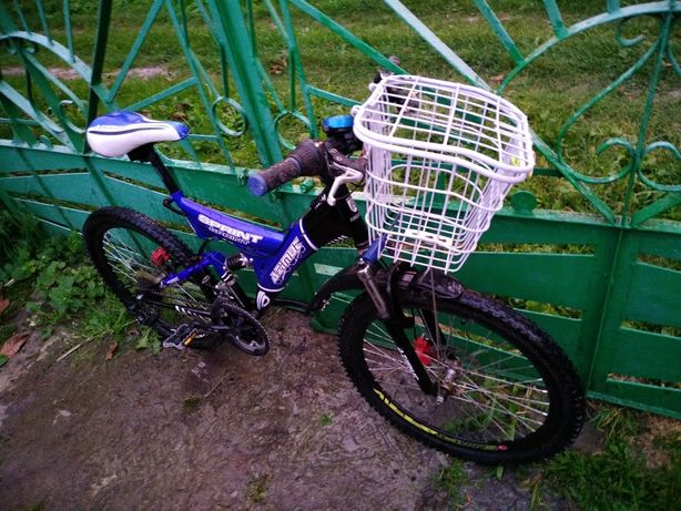 Велосипед гірський з кошиком
