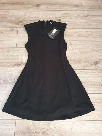 Klasyczna czarna sukienka S Nowa