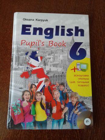Учебник по английскому языку 6 класс Оксана Карпюк