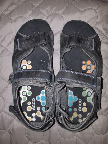 Sandały Ecco 37 skòrzane 24cm