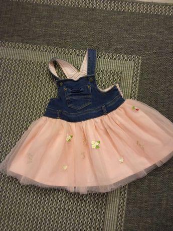 Elegancka sukieneczka dla dziewczynki Mayoral 92