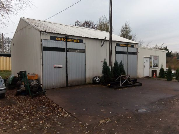 Warsztat samochodowy garaż wiata hala
