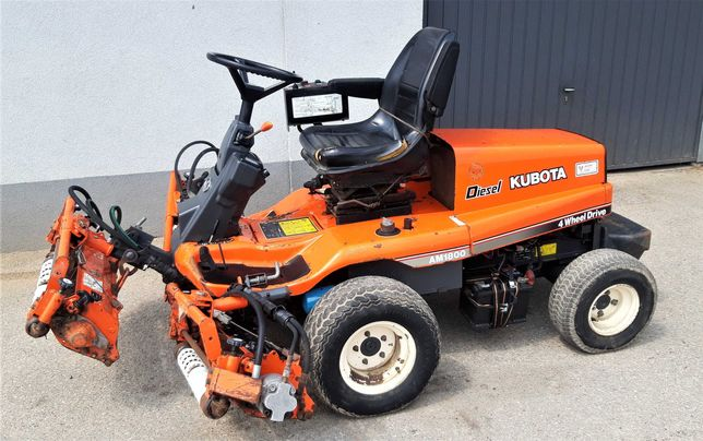 Kosiarka wrzecionowa traktorek KUBOTA AM1800 silnik D722