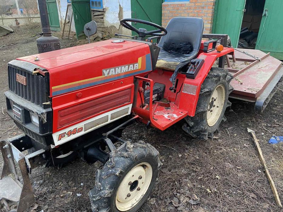 Трактор Yanmar f14 d Винница - изображение 1