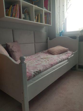 Drewniane łóżko  dziecięce 160/80