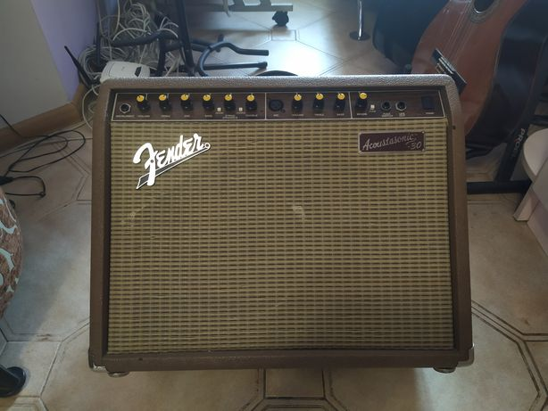 Комбо усилитель Fender Аcoustasonic 30 обмен