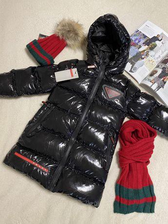 Зимняя курточка, пальто, пуховик PRADA