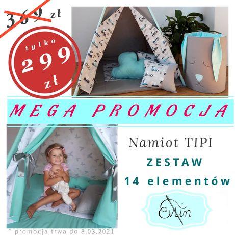 Namiot dla dzieci Tipi zestaw 14 elementow MEGA PROMOCJA stabilizator