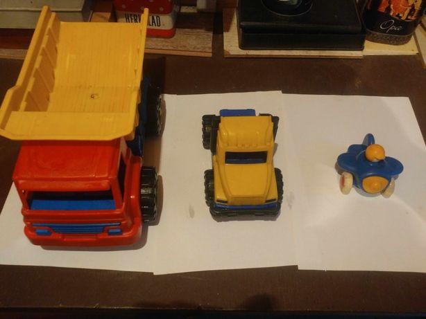 Детские машинки (самосвал, грузовик, самолётик - для улицы и т.п.)