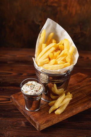 Посуда для картошки фри(Кафе,рестораны)