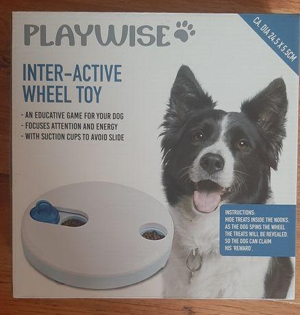 interaktywna zabawka dla psów