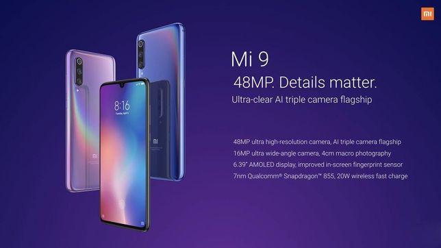 Telemóvel Xiaomi Mi 9