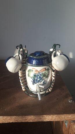 Винный бочонок интерьер для кухни подарок сувенир