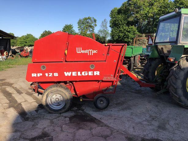 Prasa rolująca welger RP12 S siatka od rolnika