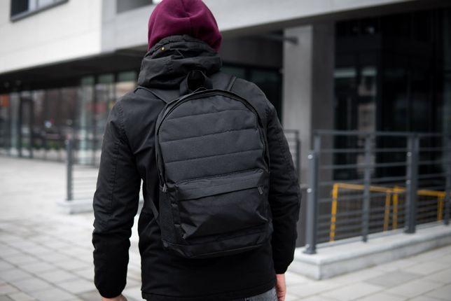 Черный городской рюкзак мужской TIR NOLOGO портфель сумка