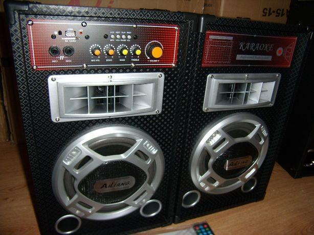 Активная Акустическая Система AILIANG с МР3(BT,SD,USB,AUX),FM,караоке