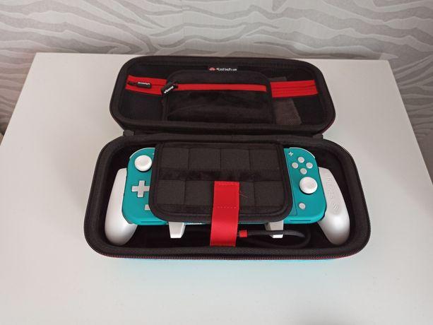 Nintendo Switch Lite + Satisfye Bundle + Cartão 400GB