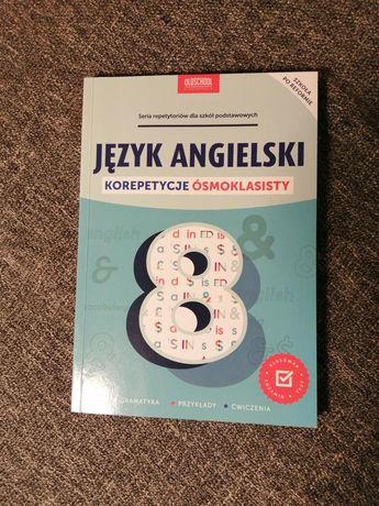 Książka korepetycje ósmoklasisty Język Angielski