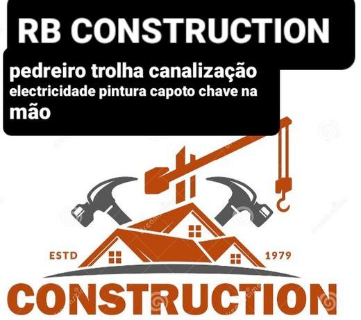 Construção civil todo tipo de serviços canalização electricista