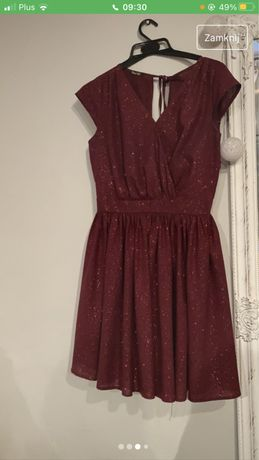 blyszczaca sukienka