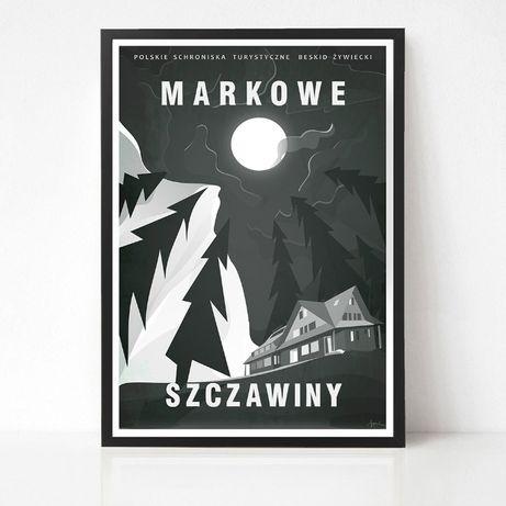 Plakat Markowe Szczawiny - Babia Góra - Beskidy