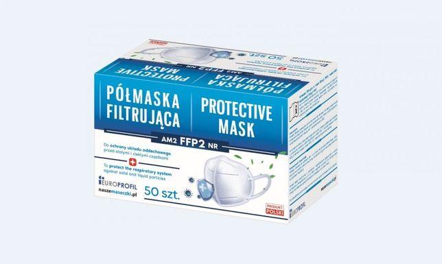 Półmaska filtrująca medyczna FFP2 AM2 50 szt.
