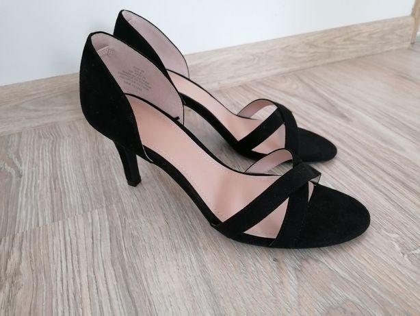 Nowe Szpilki sandały na obcasie H&M 39