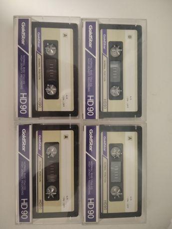 Аудіокасети GoldStar HD90