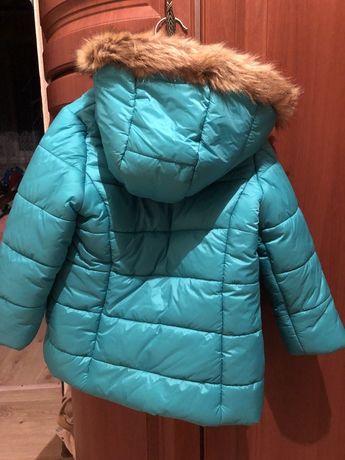 Курточка  для ребенка 3 лет зимняя