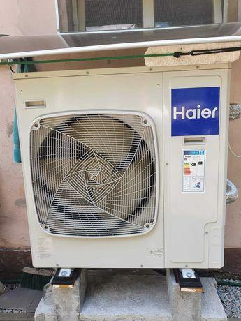 Pompa ciepła HAIER 8kW + osprzęt