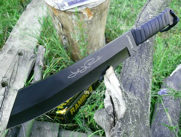 Нож охотничий, Мачете Rambo Рэмбо тесак, Топор