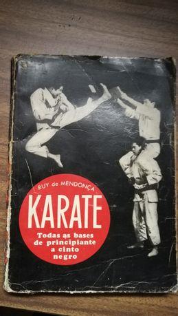 Livro Ruy Mendonça karaté